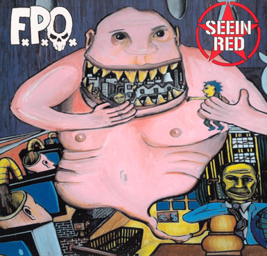 Seein' Red - FxPxOx - Split Lp (Holland - Macedonia)